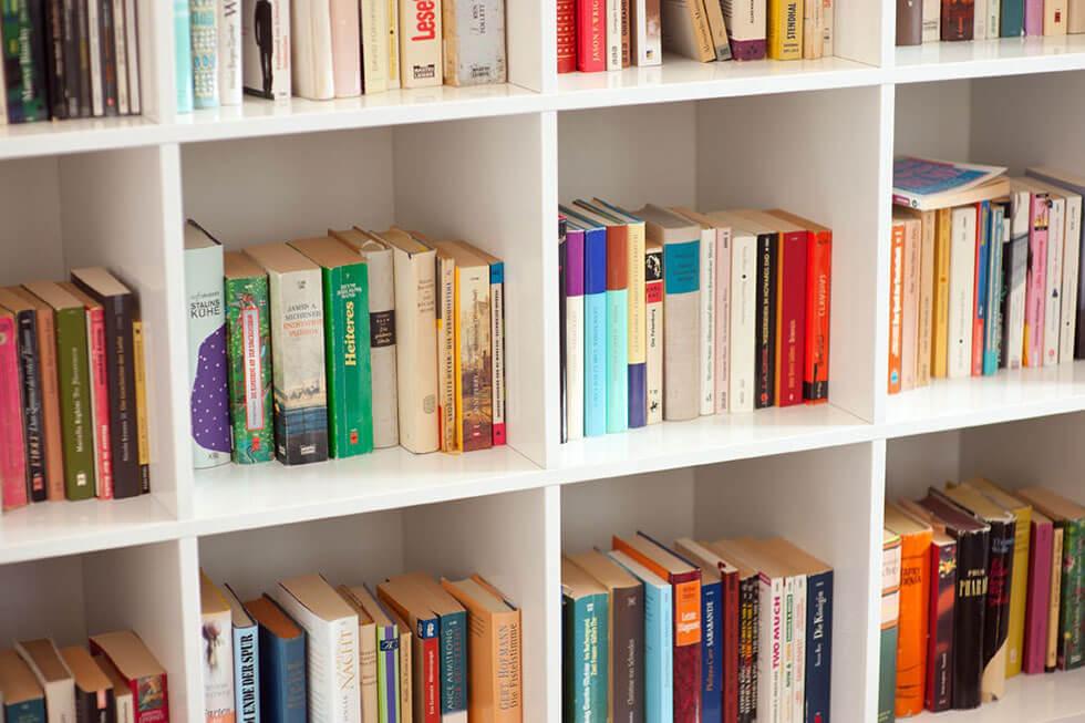 Bibliothek Im Wartezimmer